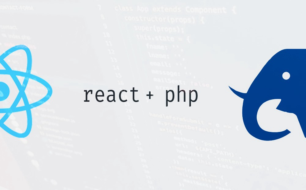 Guide on how to setup a React and PHP Web app